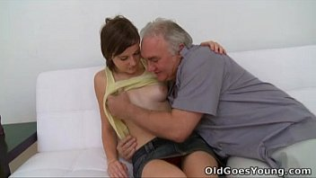old goes young - old guy needs to play with www tube3 com a cute young pussy