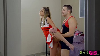 bratty videoxxx sis - bff catches stepbro creaming his sisters pussy s6 e8