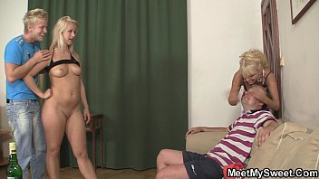 youprone family threesome with his parents
