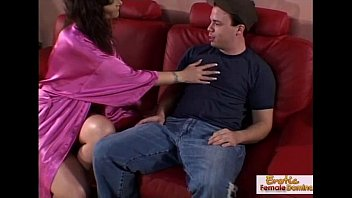 milf seduces and fucks her sons friend on wo4free the sofa