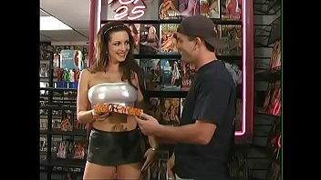 brunette bombshell taylor st. kuttywap claire came to the xxx movies shop to get personal tuition
