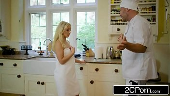 amber deen gets kezmowies some dick for dinner