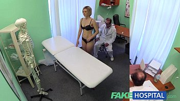fakehospital new doctor gets horny milf naked and black monster terror wet with desire