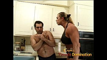 angry dominatrix with big muscles hurts her pornoincest husband really bad-6