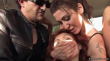 redhead banged outdoor xvixeo in public