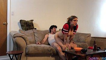 watching football with my stepdad pourn sex - erin electra
