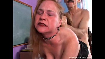 kinky old spunker likes a rough sexcy fucking and a sticky facial cumshot