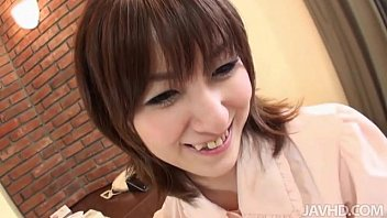 hiromi has a nice set of hot sunny lione tits that she enjoys having squeezed while she rides a