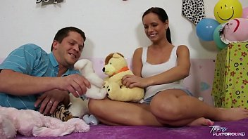 teenyplayground poirnhub super hot teen kari fucked by older ugly man in her bed