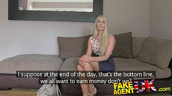 fakeagentuk south african filmaporno babe put through paces in fake casting