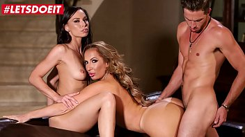 letsdoeit pirnstar - richelle ryan aidra fox - young football player gets to bang with a busty milf and her stepdaughter