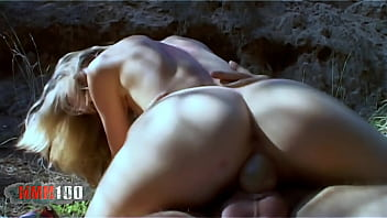 french blonde actress lea cisley porn scene in the prontv woods - remastered