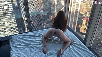 slave fucks boss in his milfonaire apartment until wife comes home