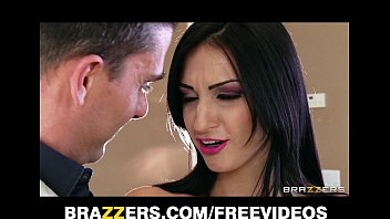 busty brunette actress amber cox sex vedio goes off script on set