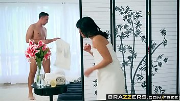 eroticlive brazzers - dirty masseur - curious cock massager scene starring ayumu kase and keiran lee