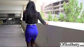 amazing sex with nxxx big round juggs office girl clip-02