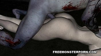 foxy penes grandes 3d cartoon zombie babe gets licked and fucked