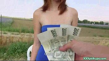 public pickups - euro sexy girl suck cock for iyouttube cash in public 23