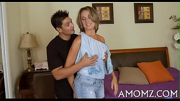 pleasing mom in a moves born sex thrilling act