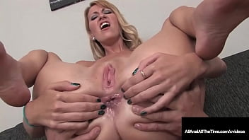 xncx smiley blonde addison o riley blows a dick and takes it up the ass