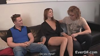 skint lover allows hot naked women frisky buddy to poke his companion for hard cash