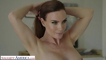 naughty america mrs. culver showers with familystroke and fucks son s friend