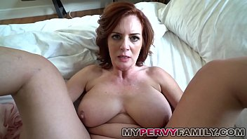 horny redxxx busty milf andy fucks her step sons big cock