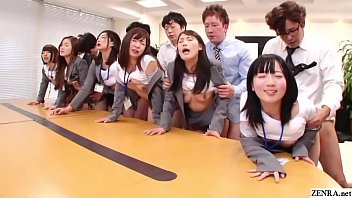 jav huge pornhan group sex office party in hd with subtitles