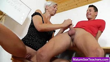 blond-haired azporn madam giving a blowjob