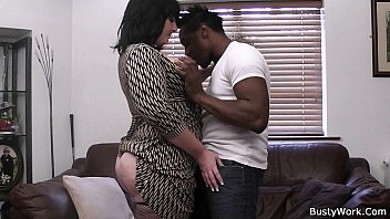 mujeres desnudas mexicanas busty lady boss in fishnets loves black meat