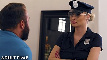 caught fapping - officer natalia starr caught him with pornoxxx his cock out