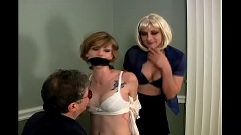 chloe is bound gagged and groped www cam4 com by a man and a woman