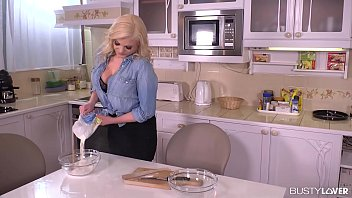 busty katy jayne destroys a throbbing cock in sexy movie video song the kitchen