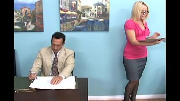 blonde gives a footjob red wab and foot worship in boots