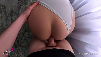 brunette tinder date with perfect ass fucked hard in sunny leone sex movie doggystyle pov - alisa lovely
