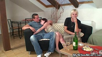 orgy with horny granny and daughter destruction com her son in law