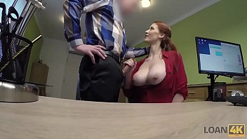 loan4k. sex live com agent screws busty redhead isabella lui because she really needs money