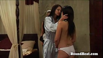 lesbian slaves and xncc com mistress in the same bed