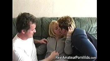 blonde gonzoxxxx amateur fucked by 2 guys