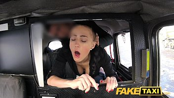 fake taxi big daddy daughter anal natural bouncing tits brunette in czech taxi