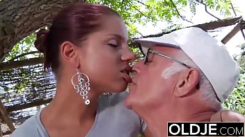 young girlfriend caught fucked by old man she violent anal rape porn sucks his dick and swallows cum