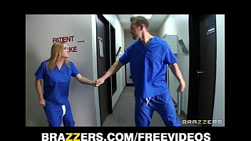 slutty blonde nurse sneaks off at work pimp and host nude to bang a hospital intern