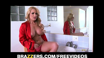 single blonde milf catches her stacy keibler nude peeping tom and punishes him