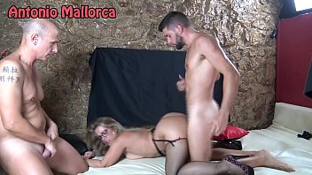 fucking a milf in front of her cuckold husband in youngerbabes com a swinger club