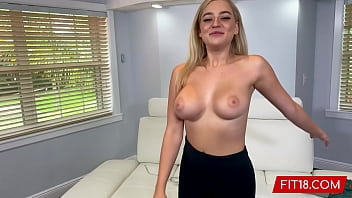 fit18 - blake blossom returns for second casting be88net showing off her big natural breasts and tattoo free thicc body