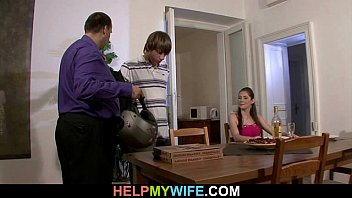 sultry wife cheats on husband with prondig pizza guy