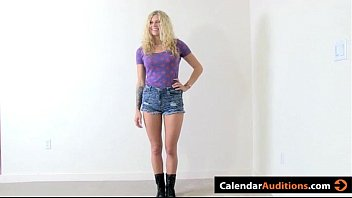 two amateur hot blondes sexyhotvideo attack at calendar audition