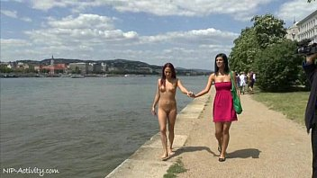 crazy naked tereza sex movie play shows her hot body on public streets