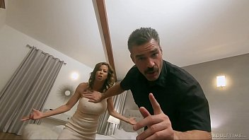 pathetic cuck pornhuh watches wife get slammed by hung police officer - full scene