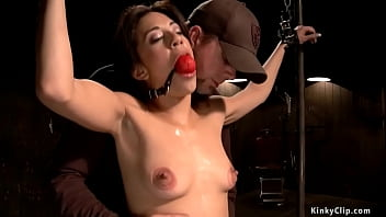 gagged bound slave nikki cox nude gets pinned